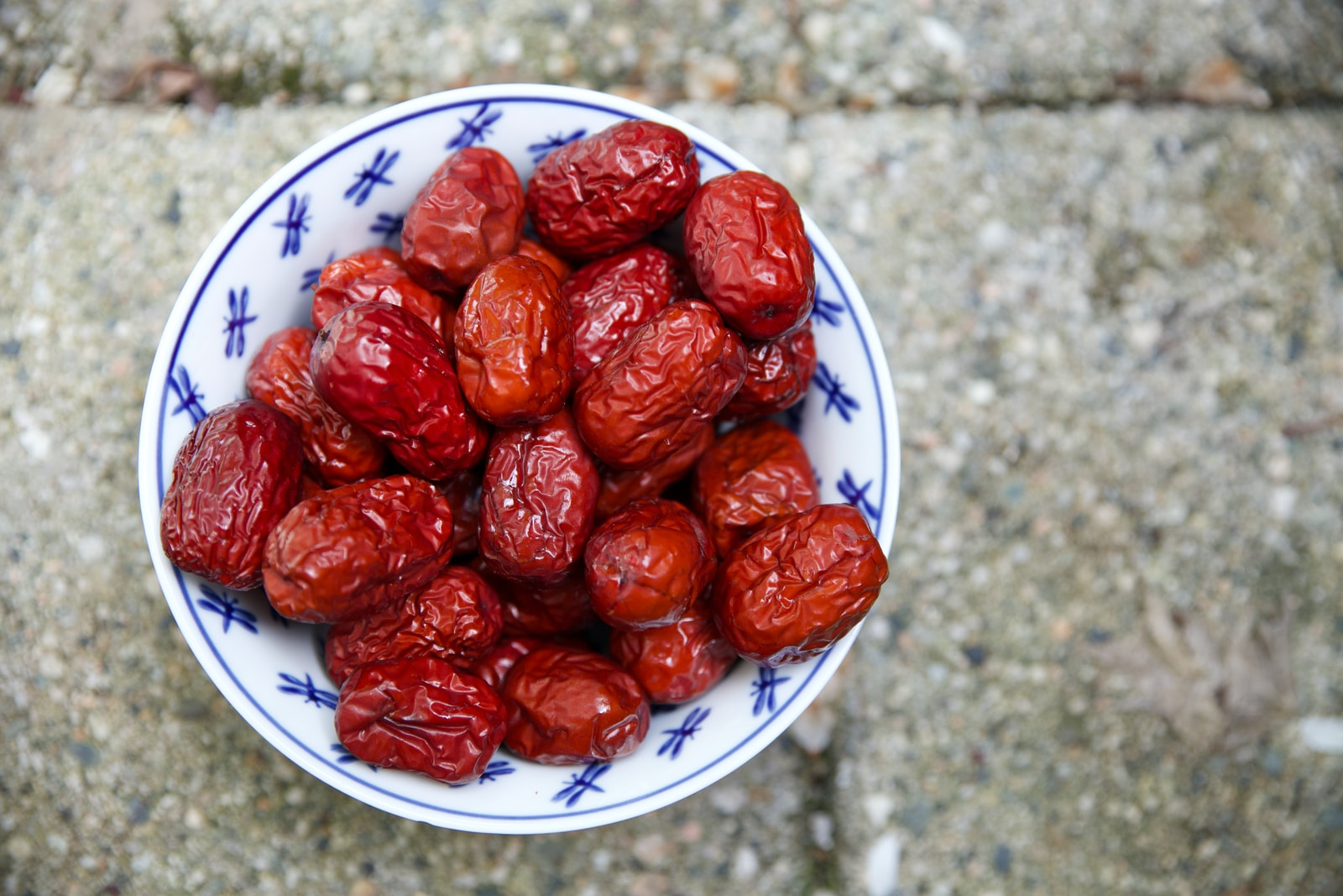 plate of brown nuts