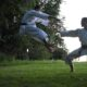 men doing karate